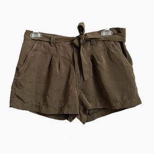 🌺4/$30 FOREVER 21 | OLIVE GREEN PAPER BAG SHORTS